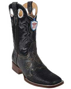 West Black Shark Wild Rodeo Toe Boots