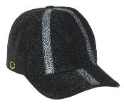 Altos Black Genuine Stingray Rowstone Baseball Hat
