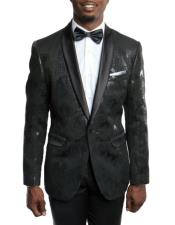Mens Slim Fit Tuxedo Jacket 100%