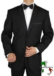 Giorgio Mens Tuxedo Suit Two Button 2pc Notch Lapel