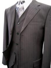 piece pinstripe suit