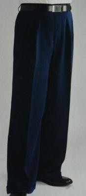 Leg Dress Pants Pleated