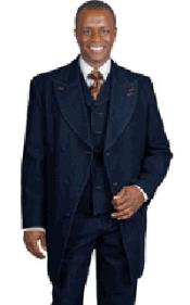 Denim Vested Urban Suit