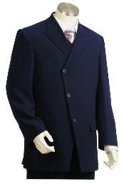 Long Zoot Suit in Dark Blue