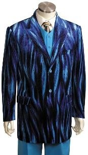 Long Zoot Suit Blue
