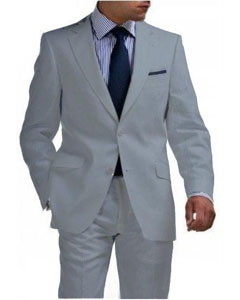 &amp Boys Sizes Light Weight 2 Btn Kids Sizes Tapered Cut Half Lined Flat Front Linen Suit