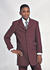 Church Suit Burgundy ~