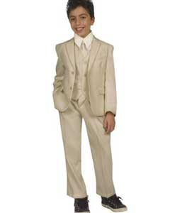 Five Piece Kids Sizes Suit Perfect for toddler wedding  attire