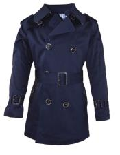 ~ Children ~ Kids Toddler Outerwear Coat Dark Navy