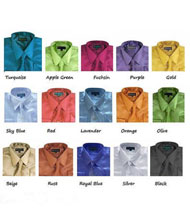 Dress Shirt Set Shiny