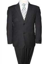 2 Piece Black  Ultra Slim Fit Solid Classic Cheap Priced