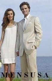 Groomsmen Suits Mens & Boys Sizes Light Weight Kids Sizes Light Tan
