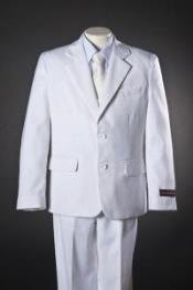 Button White 5 Piece