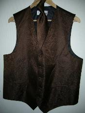 DRESS TUXEDO WEDDING Vest ~ Waistcoat ~ Waist coat & TIE SET Buy 10 of same color
