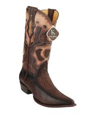 King Exotic Cowboy Style By los altos botas For Sale Embroidered