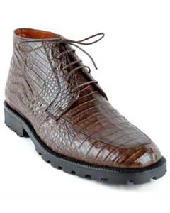 Top Gator Skin Shoe –Brown