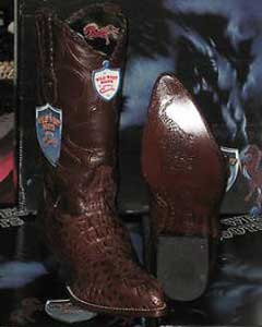 Wild West Brown Genuine Crocodile ~