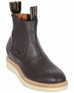 Mens Los Altos Short Work Boot Brown