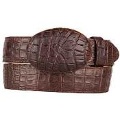 Caiman Belly (Imitation) Printed Pattern Western Style Belt