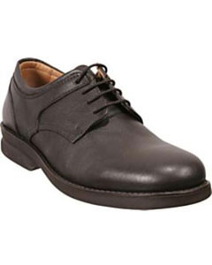 Brown Plain-toe four eyelet