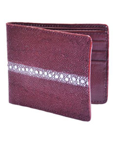 billetera ~ CARTERAS Burgundy