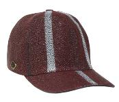 Ostrich Skin Hat Burgundy ~ Wine ~ Maroon Color