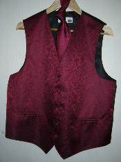 DRESS TUXEDO WEEDING Vest ~ Waistcoat ~ Waist coat & TIE SET Buy 10 of same color