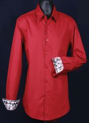 Slim Fit Dress Shirt - Cuff Pattern