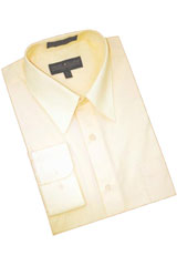 Butter Cotton Blend Dress Shirt With Convertible Cuffs