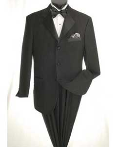 Button Tuxedo with Black