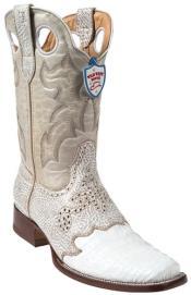 alligator skin boots