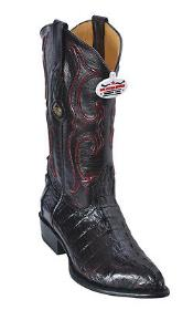 ~ World Best Alligator ~ Gator Skin Tail Cherry Black Los Altos Mens Cowboy Boots Western Classics