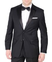 Leg Lower Rise Pants & Get Skinny Calvin Klein Wool Best Designer One Button Black Tuxedo Suit