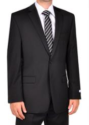 Black Slim Fit Dress Suit