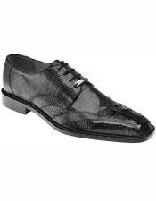Mens Black Laceup Style