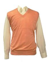 100% Acrylic Peach  Light Weight Casual Wear Solid Sweater Available