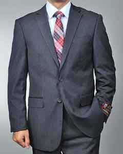 Charcoal Grey 2-button Cheap Priced Business Suits Clearance Sale