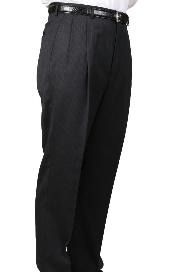 Pleated Trouser unhemmed unfinished