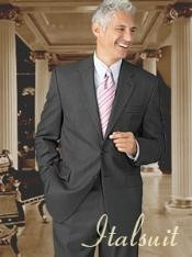 Button Wool 2pc Suit