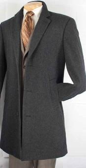 Quarters Length Mens Dress Coat Car Coat Collection in a Soft