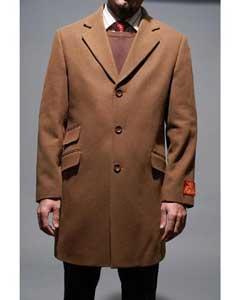 Coat Chesnut Wool and