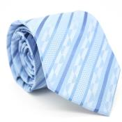 Blue Necktie with Matching