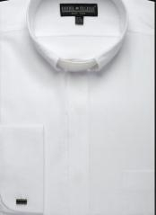 Mens Clergy collarless Shirt