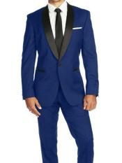 Mens Cobalt Blue ~ Indigo ~ Bright Blue ~ Teal  (