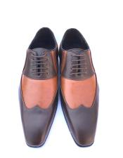 Wingtip Brown Cognac ~