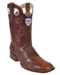Ostrich Leg Wild Ranch Toe Wild West Boots