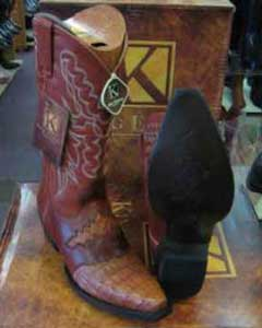 Exotic Cognac Western Cowboy