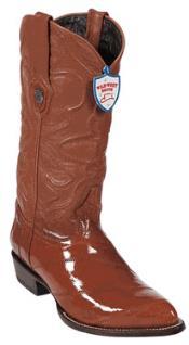 Cognac Eel Cowboy Boots