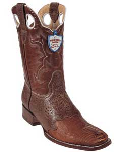 West Cognac Ostrich Leg