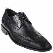 Shark Skin Dress Shoe Black